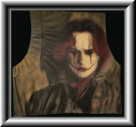 "Lederjacke ""The Crow"""